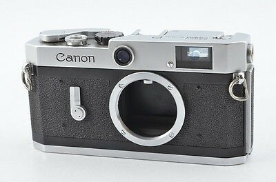 Canon P Rangefinder Film Camera Body From Japan #77436