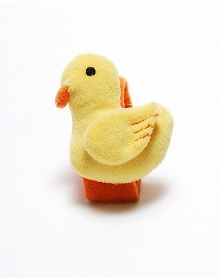 Lee Middleton Ducky Wrist Rattle! Just too cute!! Brand New! Cute Duck!
