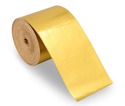 Funk Cool Gold Reflective Heat tape 50mm x 2.5m Motorsport Race car Performance