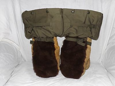 U.s. Army M1949 Artic Insulated Cold Weather Mittens Gloves