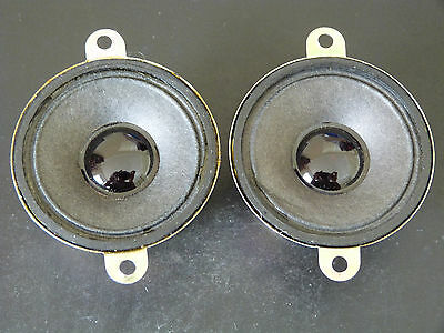 Pair of 5cm Tweeter Speaker Drivers YDG52S32-1  #4