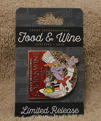 Pin 117704 WDW - Food & Wine Festival 2016: Figment Logo Pin