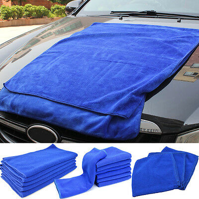 Microfiber Waxing Car Towel Kitchen Wash Auto Home Cleaning Wash Clean Cloth New