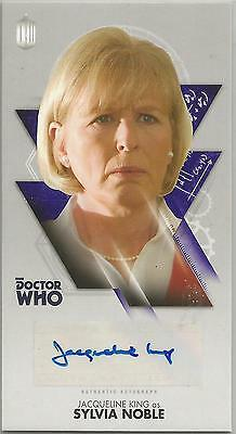 TOPPS DR. WHO THE TENTH DOCTOR ADVENTURES autograph  card - JACQUELINE KING