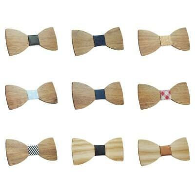 Fashion Men Boys Butterfly Wooden Bowties Party Bowties Wood Bow Tie Gifts
