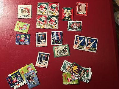 US Christmas Seal Lot (NB742)