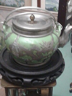 antique chinese yixing teapot by HSIN HO CHENG