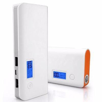 50000mAh LCD Battery Charger Dual USB LED Power Bank For Cell Phone Mobile