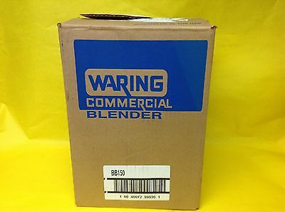 Waring Blender BB150  2 Speed  Commercial Blender in box w/Manual,SHOWS NO USE