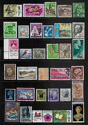 WORLD STAMPS - mixed collection, Lot No.111, all different
