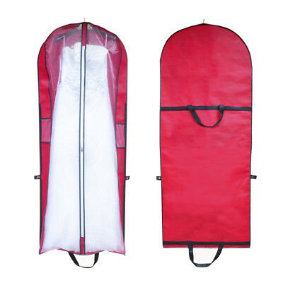 Wedding Bridal Long Dress Gown Garment Storage Protective Bag Cover Case