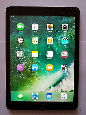 Apple iPad Air 1st Generation 16GB, Wi-Fi, 9.7in - Space Grey Tablet