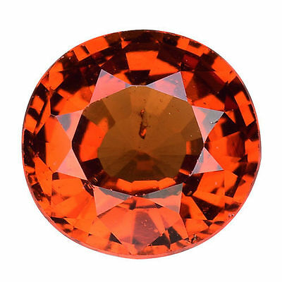 1.700Cts Massive Top Luster Orange Natural Hessonite Garnet Oval Gemstones