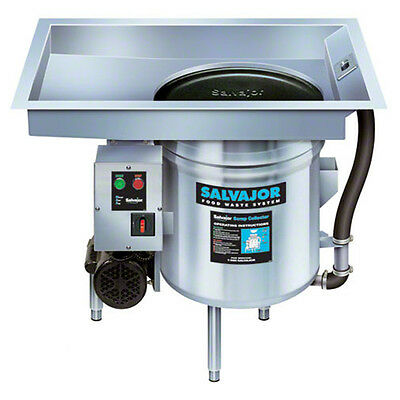 Salvajor P914 S/s Pot/Pan Collector 3/4 HP Corrosion-Resistant Pump