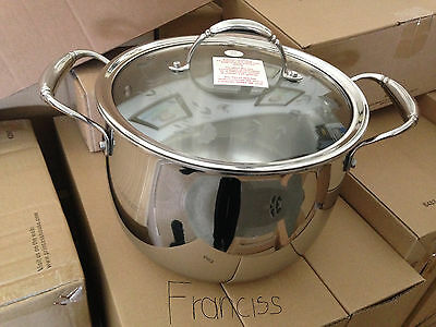 New Princess House Tri-Ply  Stainless Steel 8-Qt. Simmer Pot.