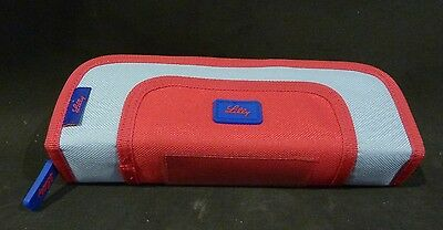 LILLY RED & BLUE PENCIL CASE 22x8x5 cm, CANVAS