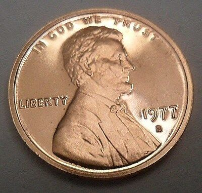 1977 S Lincoln Memorial *proof* Cent / Penny  **free Shipping**