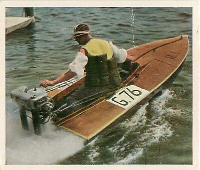 Race Racing Canot Automobile Motonautisme Powerboating Germany CARD IMAGE 30s
