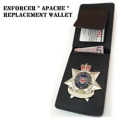 """Badge ID Wallet, ENFORCER """" APACHE """"  Replacement with Cut-Out"""