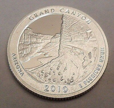 2010 S Grand Canyon  *90% Silver Proof*  State Quarter   **free Shipping**