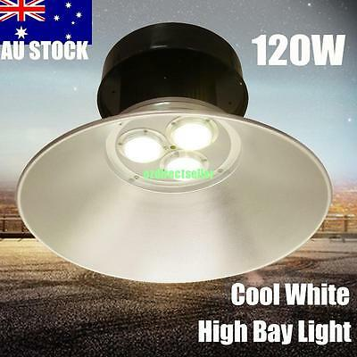 120W LED High Bay Light Lamp Warehouse Industrial Library Factory Lighting IP44