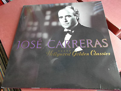 Jose Carreras: Hollywood Golden Classics: Vinyl Lp Made In Germany: 1991