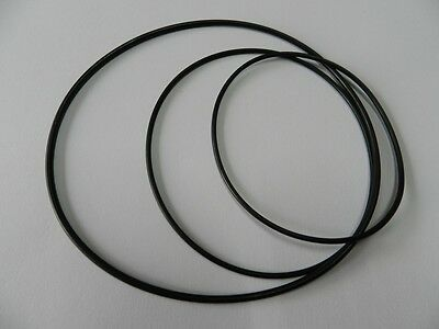 Reel to reel Round belt Set suitable for Uher Report 4400 Rubber drive belt kit