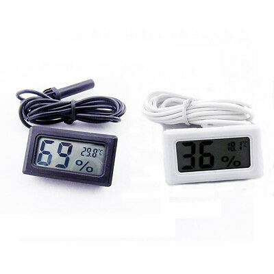 New Digital Thermometer Hygrometer for Incubator Poultry Reptile Greenhouse