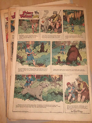 Prince Valiant Hal Foster Sundaypages 1957 COMPLETE 52 Fulls alle Sontagsseiten