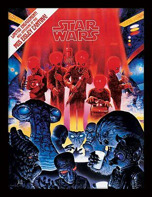 Star Wars - Mos Eisley Cantina - 30 x 40cm Framed Poster Print FP11371P