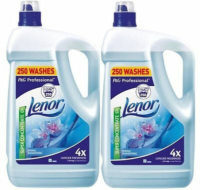 Lenor Spring Awakening Fabric Conditioner, 10L 2X250WASHES - FREE POSTAGE
