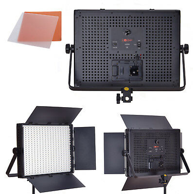 900 LED Daylight Panel - 5600k Photo Video Studio Dimmable Lighting - LuxLight