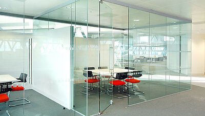 Cheap Glass Partitions Delivered NATIONWIDE - IN STOCK