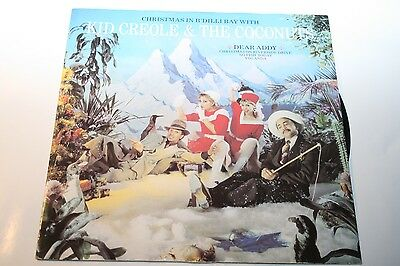 """Kid Creole & The Coconuts - Christmas in B'Dilli Bay With - 12"""" ZE Records"""