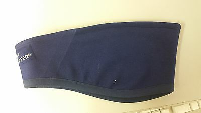 WINDSTOPPER® Technical Fleece Halkon Hunt Ear Warmer Head band Navy Blue