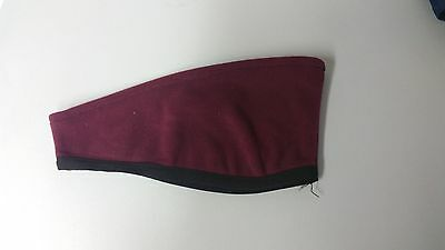 WINDSTOPPER® Technical Fleece Halkon Hunt Ear Warmer Head band Burgundy