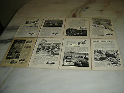40'S Old Portuguese Advertising WWII Second War Lot MARTIN Aircraft original