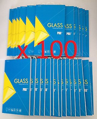 Joblot of 100 pcs - Tempered Glass Screen Protectors for Samsung Galaxy S7 *NEW*