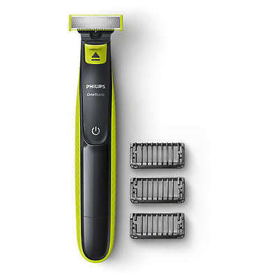 Philips One Blade QP2520 Rechargeable Shaver Trimmer 3 X Combs + Charger