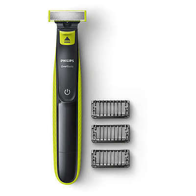 Phillips One Blade QP2520 Rechargeable Shaver Trimmer 3 X Combs + Charger