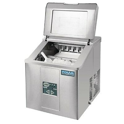 Polar Counter Top Ice Machine 17kg Output Commercial Kitchen Restaurant Cafe