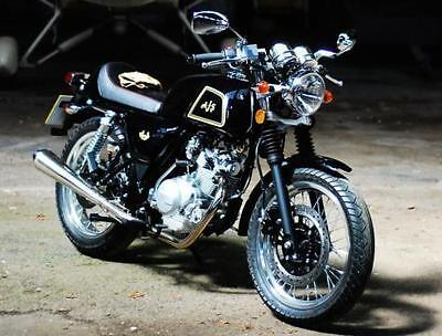 AJS cadwell 125cc learner legal cafe racer motorcycle