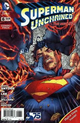 Superman Unchained #6 Combo Pack (Polybagged)