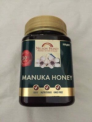 30+ MGO Bronze Raw Manuka Honey 500g From New Zealand