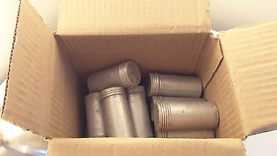 Vintage Aluminium Film Canisters/Containers x15  storage  art & craft