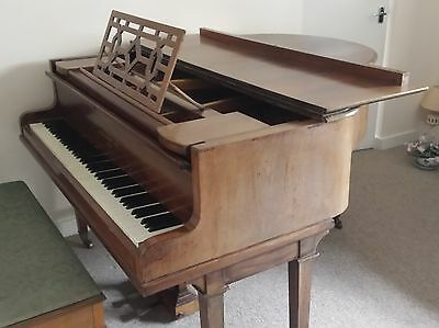 Boudoir Baby Grand Piano built by John Broadwood & Sons