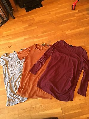 3x Maternity Tops Size 12