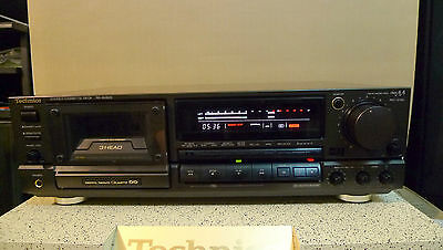 Technics RS-BX828 High-End Tape Deck Top of the line, with original remote