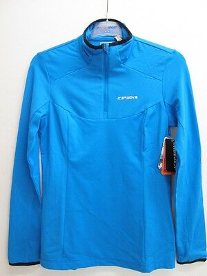 Icepeak Nida Damen Shirt Thermostretch türkis *UVP 29,99