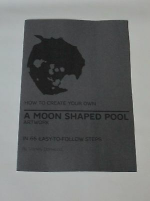 Radiohead - Moon Shaped Pool Booklet artwork How To Create Promotional